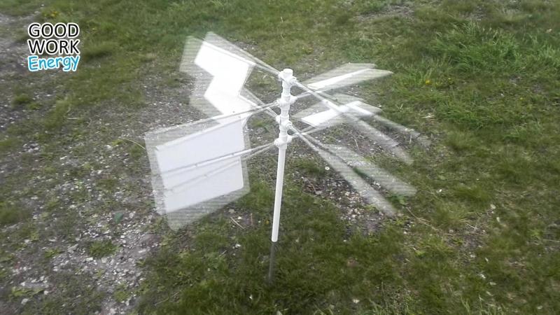 Ветрогенератор флажковый