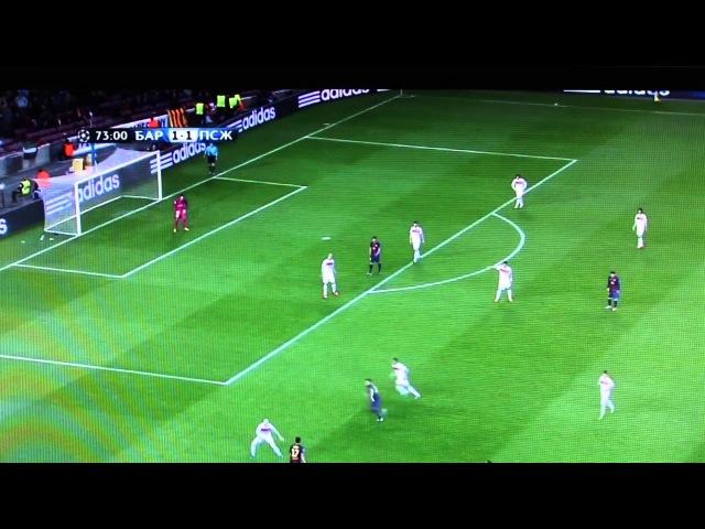 шоу NEKRASOV TV ЛЧ 2013 1/4 финала ответный матч 10.04.13 обзор Barcelona vs PSG голы моменты Messi