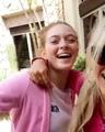 LARSEN THOMPSON on Instagram Happy 17th to my Elsa bestie sista @kaylynslevin