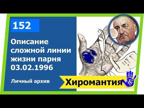 Описание сложной линии жизни парня Хиромантия - Hiromantiya от Владимира Красаускас 152