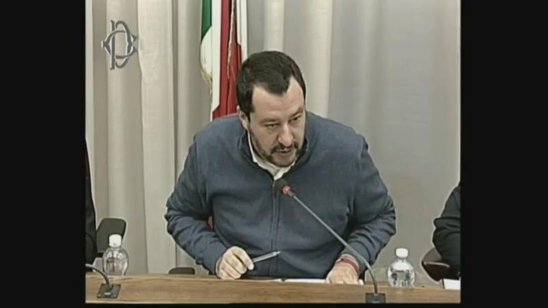 Roma, Salvini in audizione davanti il comitato Schengen