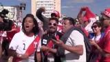 PERU Fans in Saransk - Fifa World Cup 2018 ПЕРУАНЦЫ в Саранске на Чемпионате Мира по Футболу 2018!