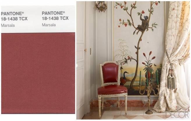 Самый модный цвет-2015 по версии Pantone Color Institute. Pantone+Marsala.5a8
