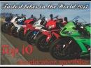Top 10 Fastest bikes in the World 2017 (June)/Топ-10 самых быстрых мотоциклов в мире 2017 (июнь)