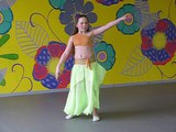 Школа арабского танца Хабиби - Карина Пепелева - соло