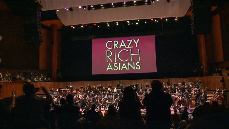 Crazy Rich Asians Text Ting Swing Live! - Brian Tyler [OFFICIAL]