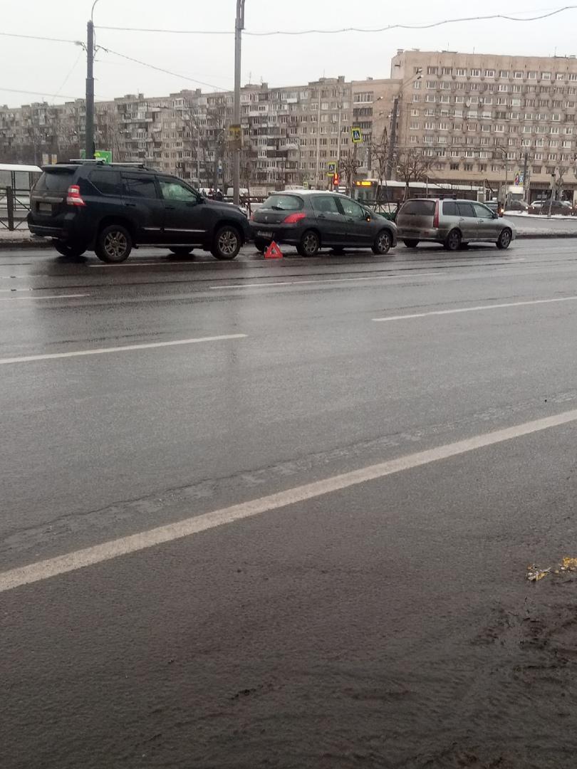 Тройничок на Проспекте Славы перед Софийской улицей в сторону Сортировки7
