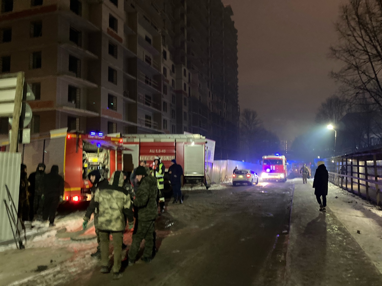 Задымление в здании бывшего мясокомбината на Московском шоссе Пожар начался около 17.00. По крайней...