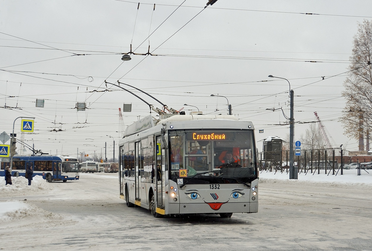 Снято движение троллейбусов по Седова, д.14, из-за аварии на сетях коммуникаций. Троллейбус №14 след...