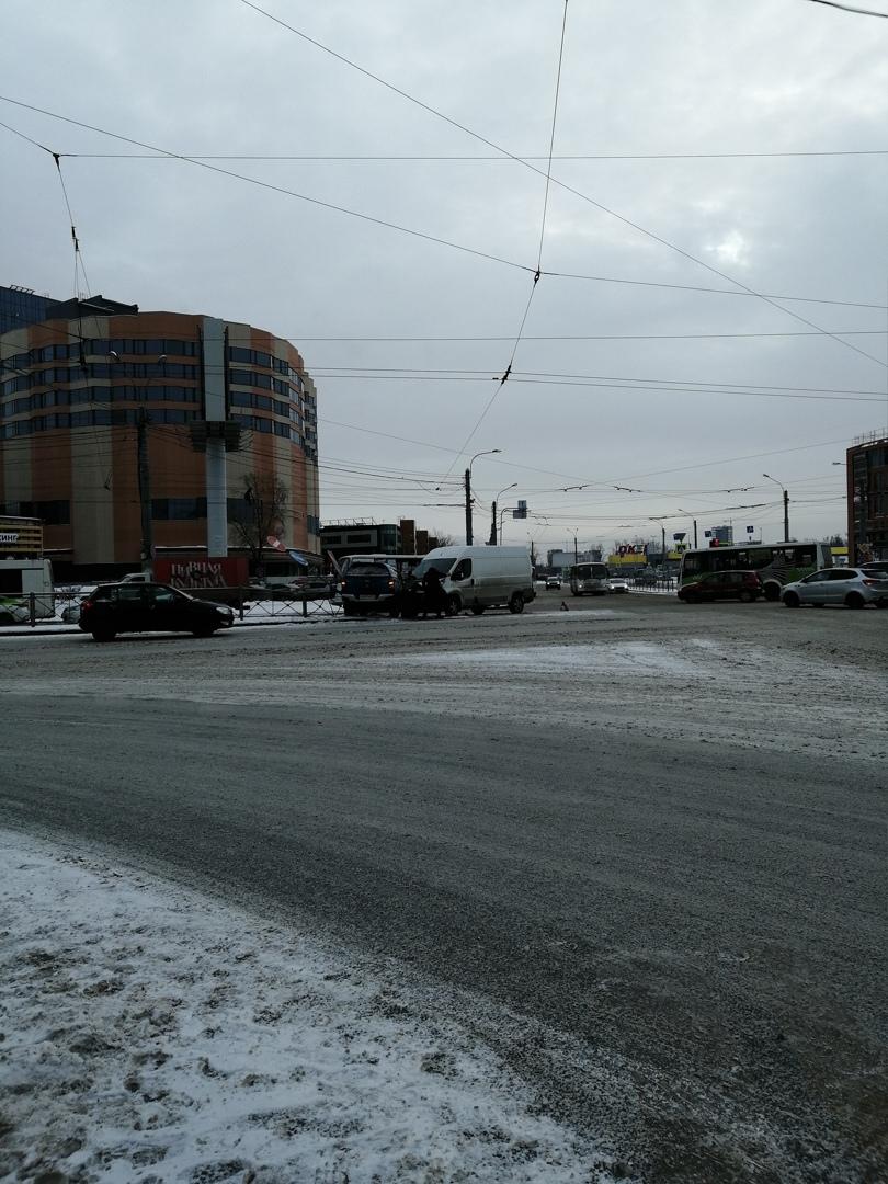 ДТП на пересечении Заневского проспекта и Энергетиков