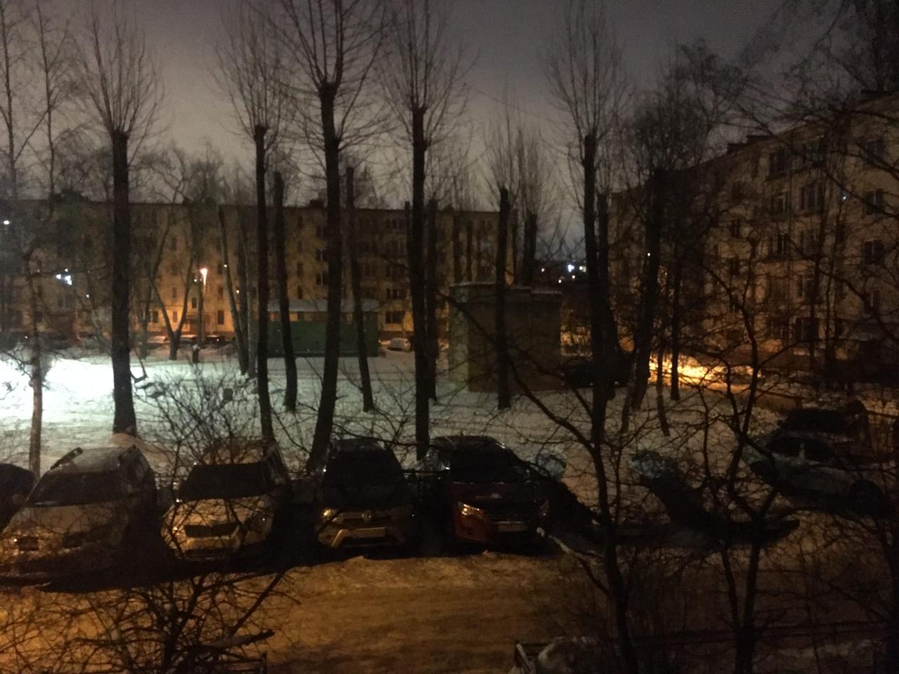 На улице Зины Портновой дома остались без электричества.
