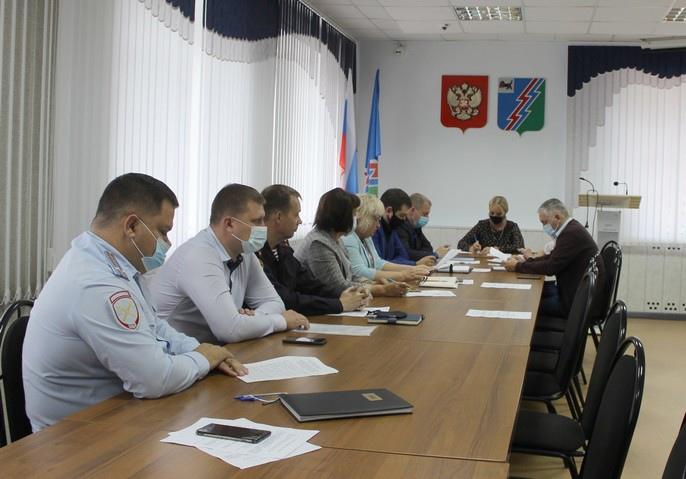 Заседание антитеррористической комиссии в Усть-Илимске
