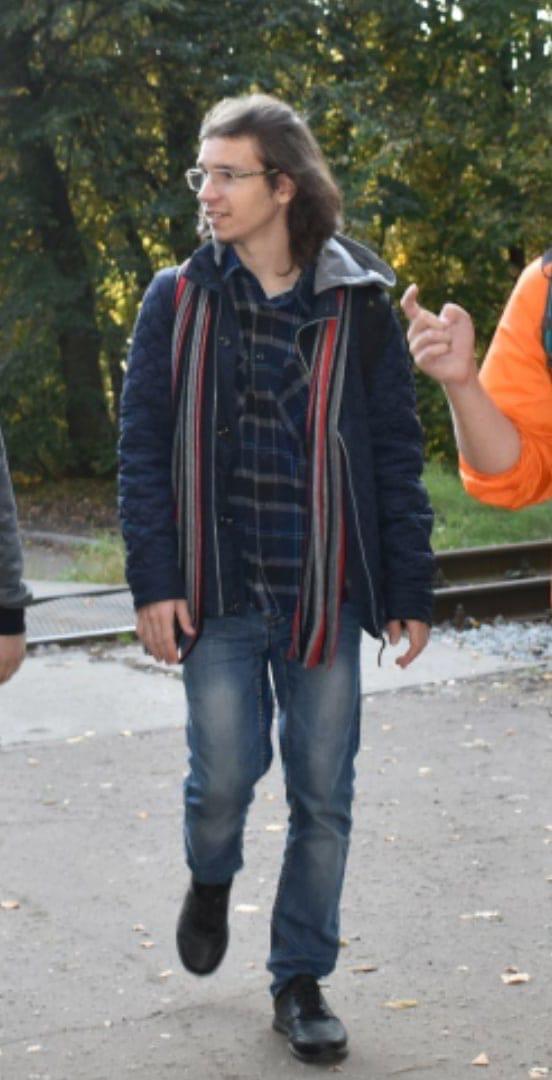 20 мая в 7:30 пропал Песков Владислав Сергеевич 20 лет, г. Петергоф Студент ушёл с территории ПУНКа...