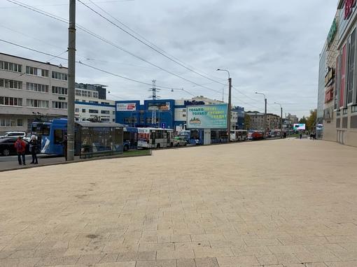 Кушелевская дорога и Кантемировская улицы стоят. ДТП с автобусом 105 маршрута. Нарушено движение ОТ,...