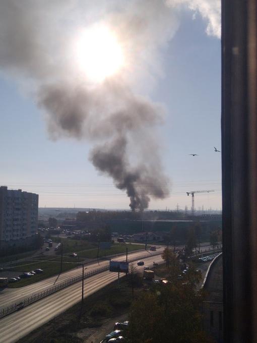 Что-то горит в стороне Кудрова