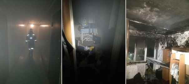 04.08.2021. Пожар в Усть-Илимске на улице Молодежной