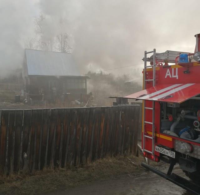 На пожаре в микрорайоне Высотка погибла пенсионерка
