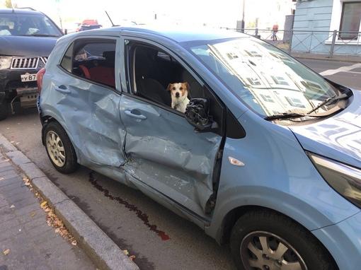 4 октября моя подруга попала в аварию примерно в 13:25 на повороте с Левашовского на набережную Адми...