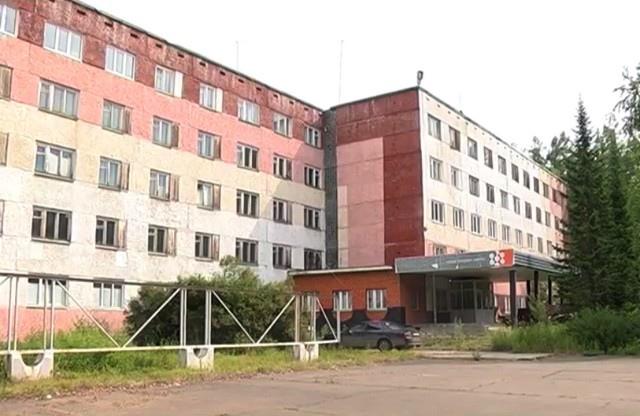 Усть-Илимск. Здания бывшего филиала Сибирского федерального университета