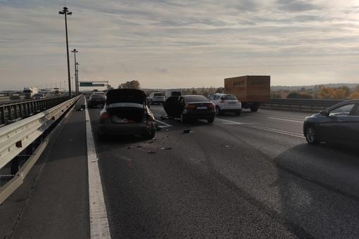 Ищу свидетелей аварии на КАД. 5.10.2021 в 8.30 на внешней стороне между Таллинским и Дачным