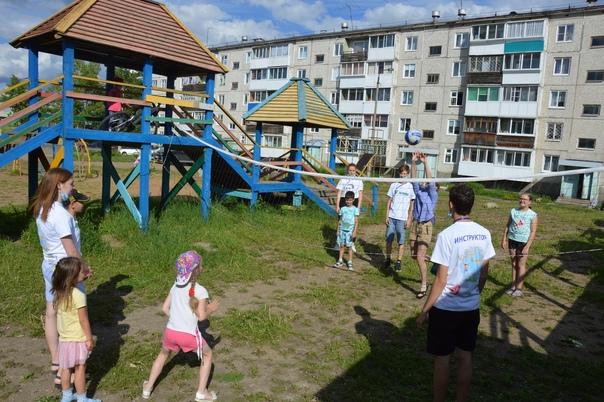 Дворовые игры в Усть-Илимске