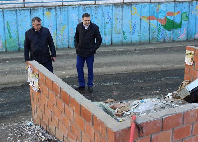 Руководитель Службы государственного жилищного надзора Иркутской области В.А. Десятов посетил Утсь-Илимск