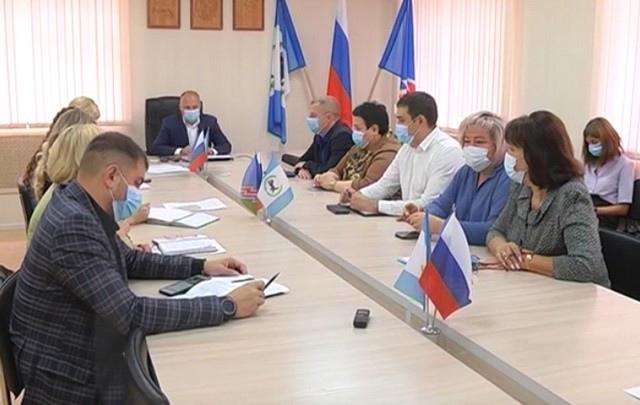 Планерное совещание Администрации Усть-Илимска от 16 августа 2021 года