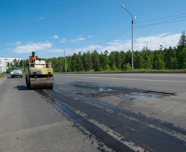Ремонт автомобильных дорог в Усть-Илимске