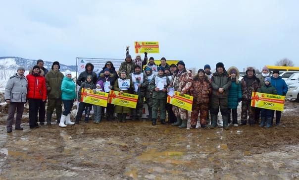 Соревнования по зимней рыбалке в Усть-Илимске