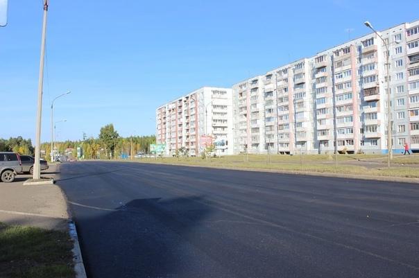 Ремонт дороги по улице Карла Маркса в Усть-Илимске