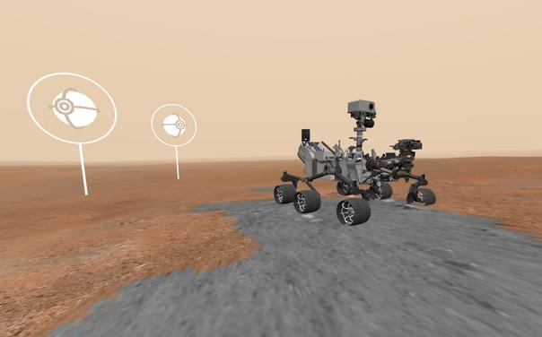 Онлайн-экскурсия на Марс