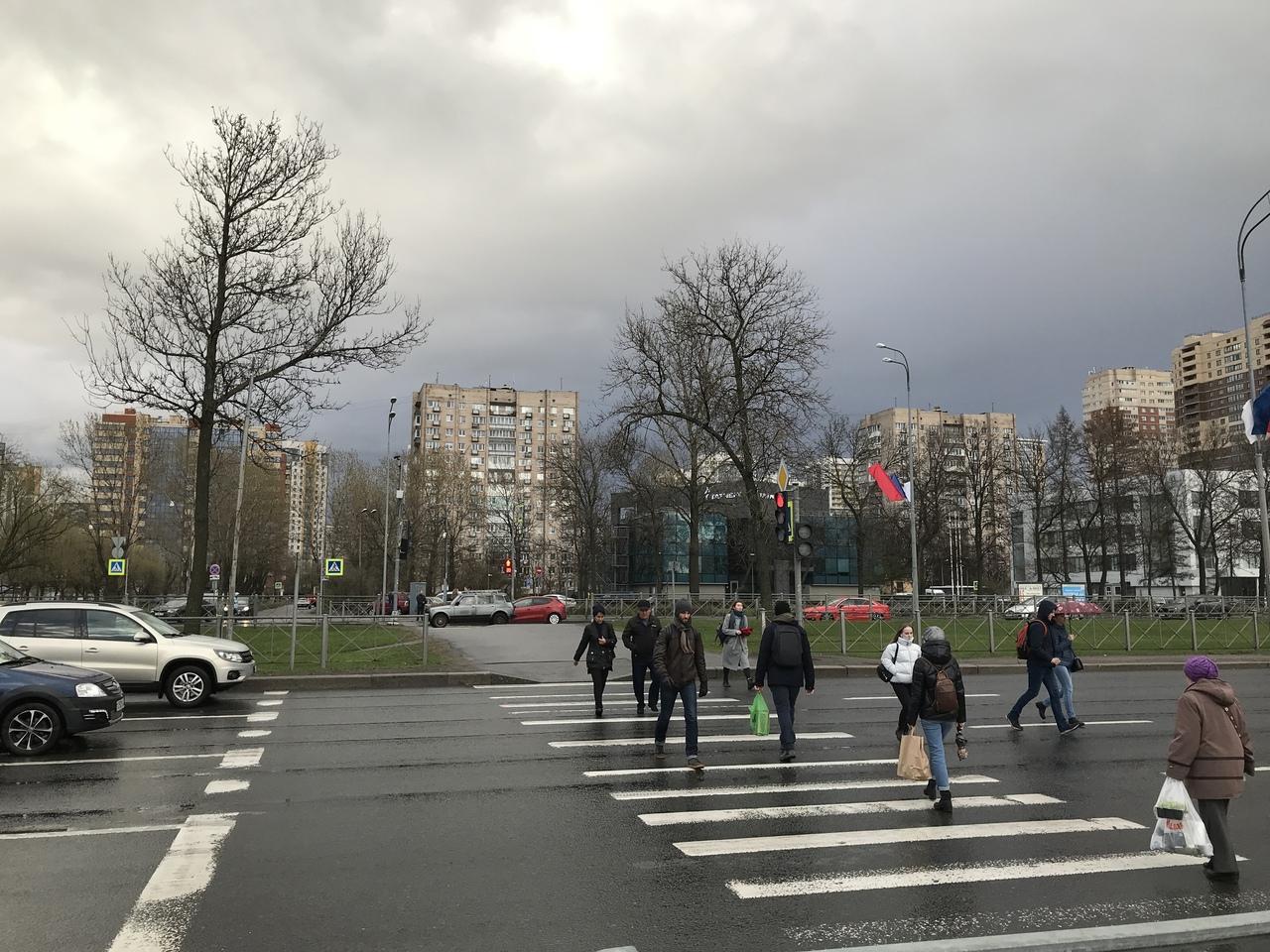 5 мая в 18-00 на пешеходном переходе по адресу Пулковское Шоссе 21 случилось несчастье: водитель Дел...