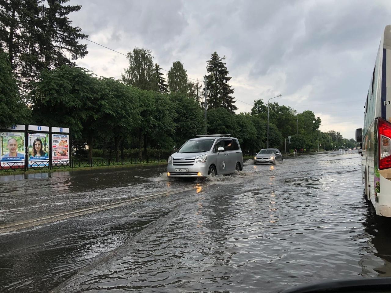 После дождичка в четверг, Сестрорецк улица Володарского …