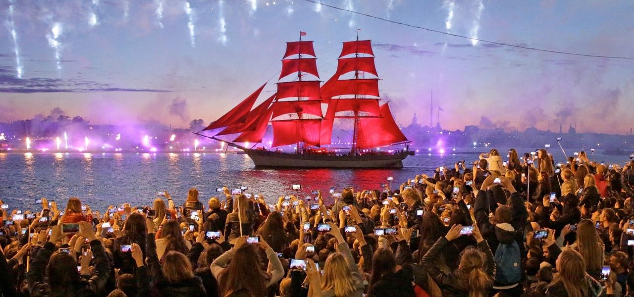 В Петербурге 25 июня состоится праздник выпускников «Алые паруса» В магазинах города введен запрет ...