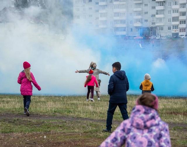 Уличный спектакль в Усть-Илимске. 29.05.2021