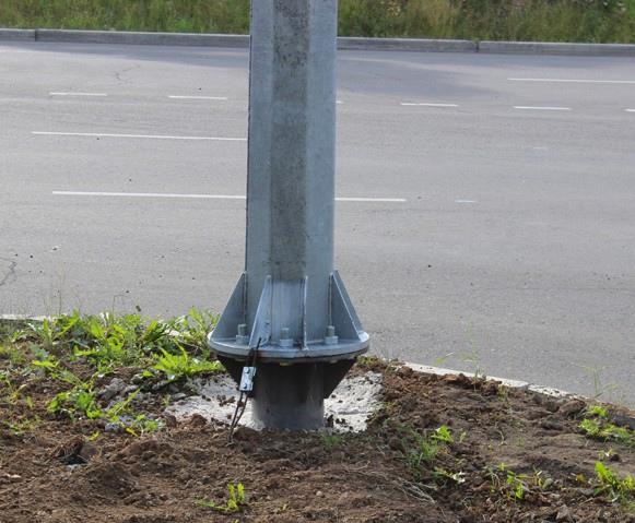 Новые уличные светильники в Усть-Илимске