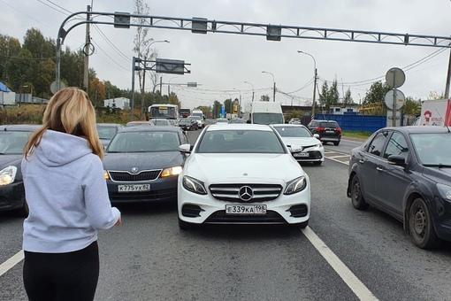 Ищу свидетелей ДТП произошедшего сегодня в 9:45 утра в поселке Парголово, на пересечении Выборгского...