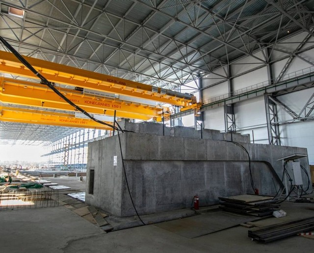 Строительство Целлюлозно-картонного комбината в Усть-Илимске
