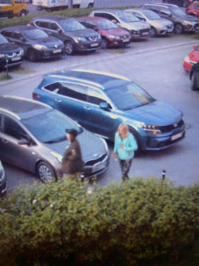 25 мая в 3:30 утра эти девушки вмяли крышу моего автомобиля. Адрес: Есенина 16 к1. Скорее всего каки...