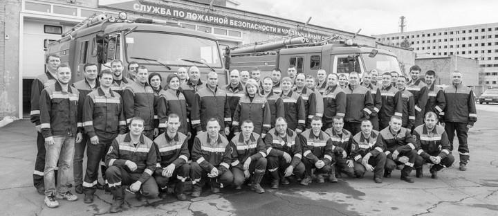 Служба пожарной безопасности и чрезвычайных ситуаций (СПБиЧС) усть-илимского филиала АО «Группа «Илим»