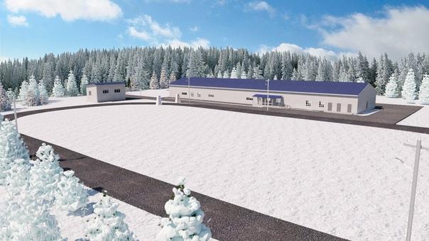 Проект лыжной базы «Снежная» в Усть-Илимске