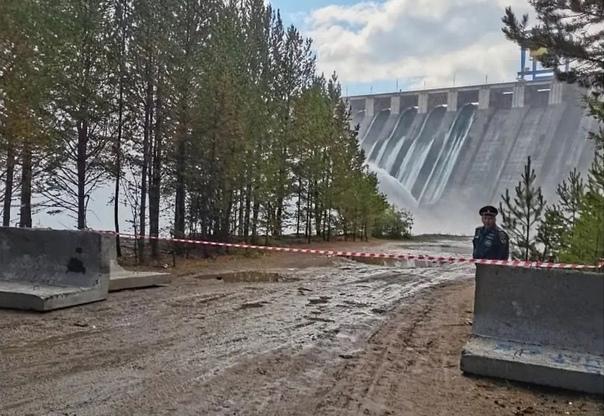 Доступ к Усть-Илимской ГЭС закрыт