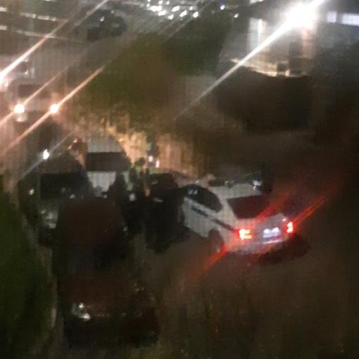 Гонки на каршеринге от сотрудников ДПС в 5 утра на Купчинской 28 к 2. Водитель протаранил припарк...
