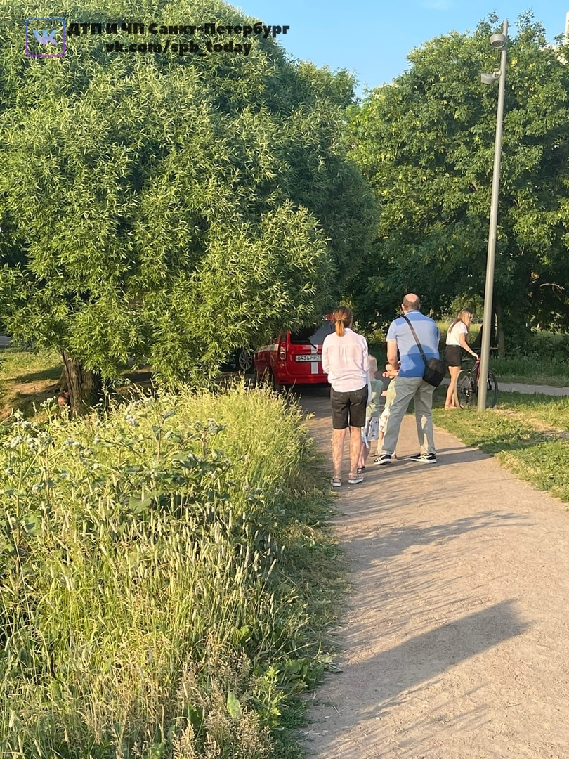 Рядом со всеми любимой улицей Димитрова в парке Интернациалистов вытащили утопленника.