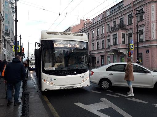 Суворовский -Невский - Пробка