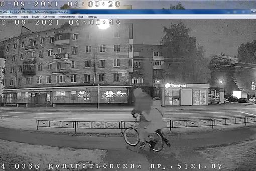 Сладкая парочка, укравшая велосипед из подъезда по адресу Кондратьевский 51, вернёте по-хорошему - з...