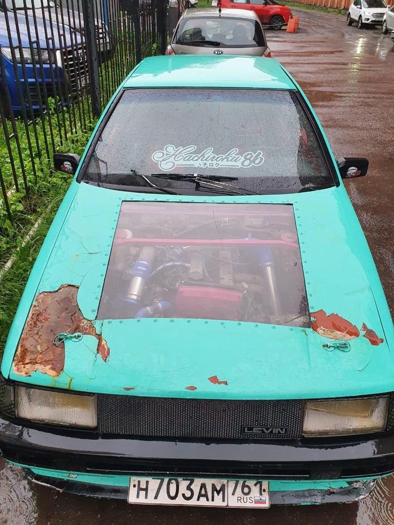 29 мая оставили автомобиль Toyota Corolla 1986 года на Яхтенной улице в кармане. 13 июня приехал, ма...