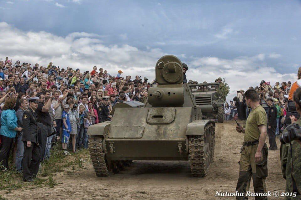 ТАНКОВОЕ ШОУ КО ДНЮ ВЕЛИКОЙ ПОБЕДЫ! 1-10 мая под Красным Селом заведут настоящие танки, чтобы пока...