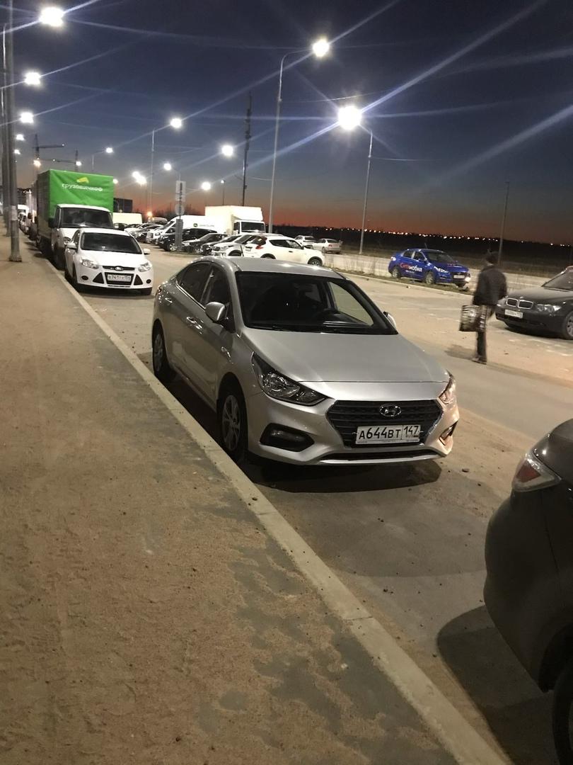 16 апреля в 2:15 ночи был угнан автомобиль с Ручьевского проспекта дом 9 (Мурино). Hyundai Solaris с...