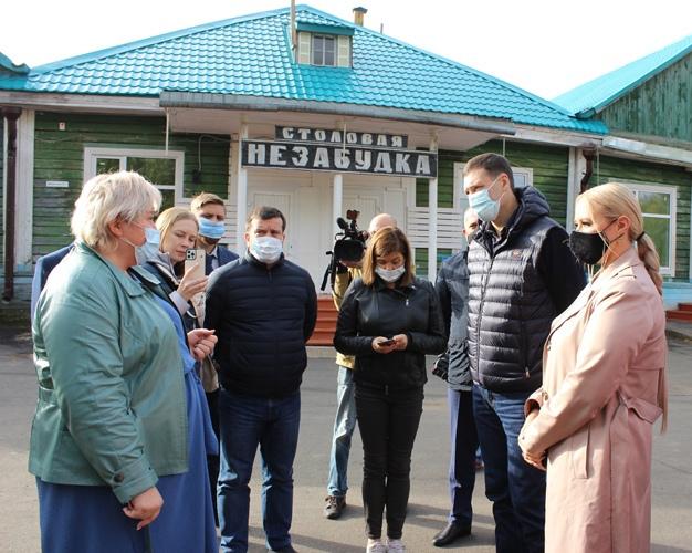 Губернатор Иркутской области Игорь Кобзев посетил Усть-Илимск